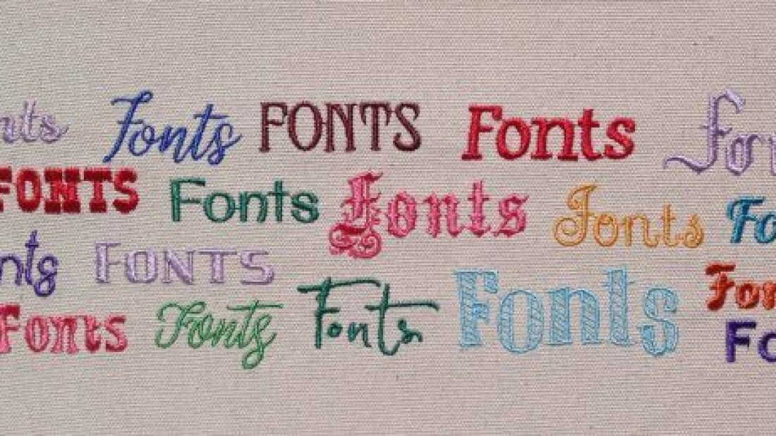Free Embroidery Fonts for Designers   PunchDigitizing
